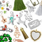 Christmas Pendants and Charms