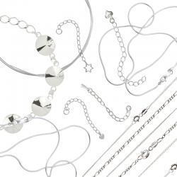 Sterling Silver Chains and Wires