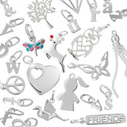 Sterling Silver Charms and Pendants