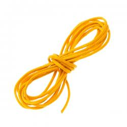 Orange Jewellery Bead Cotton Cord 1mm - 1 Metre Length