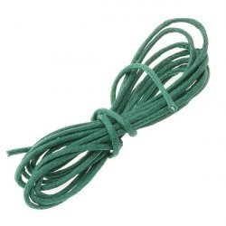 Dark Green Jewellery Bead Cotton Cord 1mm - 1 Metre