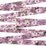 Liberty of London 10mm Lilac Bias Ribbon Mitsi P - 1m
