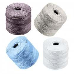 Beadsmith 0.5mm Superlon Tex 210 Cord Apparition Mix PK4