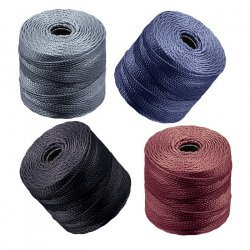 Superlon Tex 210 Nylon Cord 0.5mm Pebble Stone Mix PK4