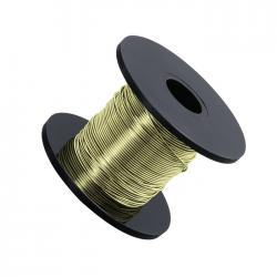 Green Chartreuse Beading Copper Wire .5mm 25 Metre Reel