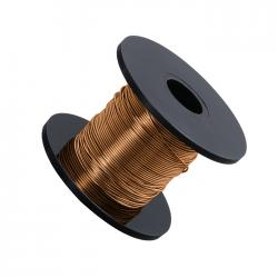 Warm Gold Beading Copper Craft Wire 0.50mm 25m Reel