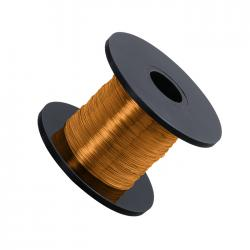 Light Gold Beading Copper Craft Wire 0.20mm 175 Metres