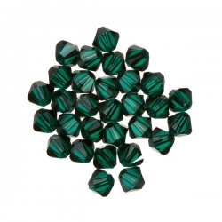 5328 Swarovski Crystal Bicone Beads (205) Emerald 4mm