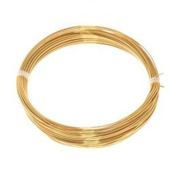 Bead Craft Wire Gilt on Copper 0.60mm - 10 Metres