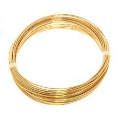 Bead Craft Wire Gilt on Copper 0.80mm - 6 Metres