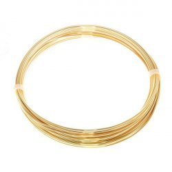 Bead Craft Wire Gilt on Copper 0.90mm - 5 Metres