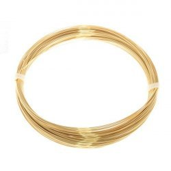 Bead Craft Wire Gilt on Copper 0.40mm - 20 Metres