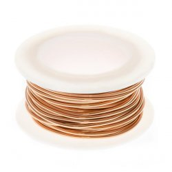 Copper Wire Non Tarnish for Jewellery 1mm - 4 yards (3.66m)