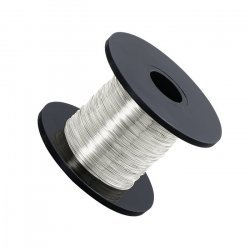Clear Silver Beading Copper Craft Wire 0.20mm 175 Metres