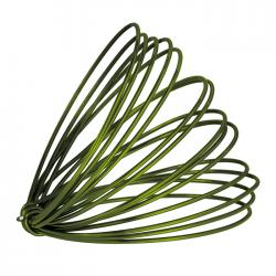 Aluminium Craft Wire Leaf Green 1.5mm - 3 Metre Coil