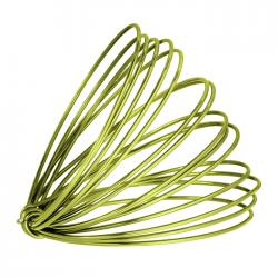 Aluminium Craft Wire Lime Green 1.5mm - 3 Metre Coil