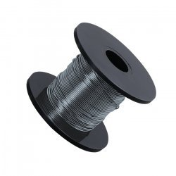 Smoked Grey Beading Copper Craft Wire 0.50mm 25m Reel