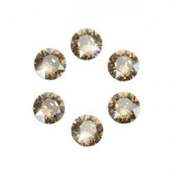 Swarovski 1088 Chatons Crystal Golden Shadow F 6mm PK6