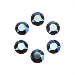 Swarovski 1088 Chatons Crystal Metallic Blue F 6mm PK6