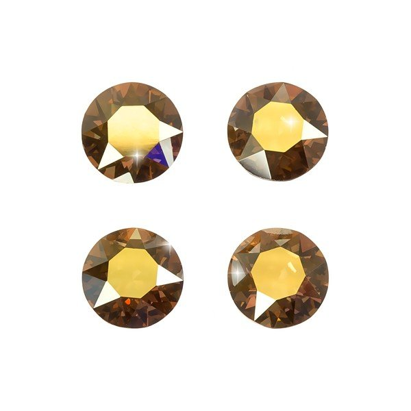 Swarovski 1088 Chatons Crystal Metallic Sunshine F 8mm
