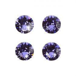 Swarovski 1088 Crystal XIRIUS Chatons Tanzanite F 8mm