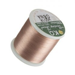 KO Natural Japanese Nylon Beading Thread 50m Reel