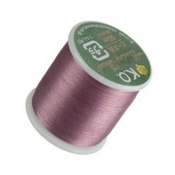 KO Lilac Japanese Nylon Beading Thread 50m Reel