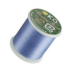 KO Light Blue Japanese Nylon Beading Thread 50m Reel