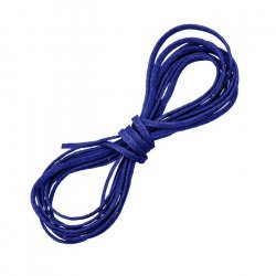 Royal Blue Waxed Polyester Flat Macramé Thread/cord 1mm