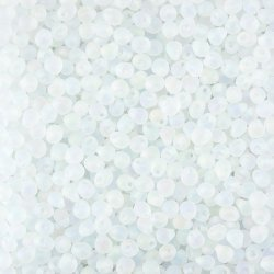 Miyuki Drop Seed Beads Matte Transparent Crystal AB 3.4mm