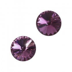 Swarovski 1122 Crystal Rivoli Antique Pink F 12mm (PK2)