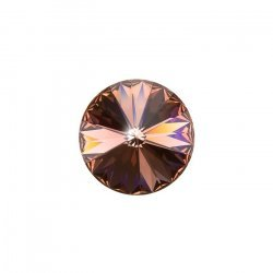 Swarovski 1122 Rivoli Crystal Blush Rose Stone 14mm PK1
