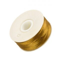 Nymo Size D Nylon Bead Weaving Thread - Golden 64yd