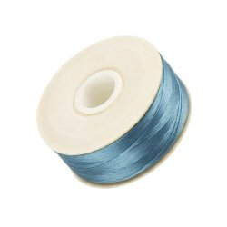 Nymo Size D Nylon Bead Weaving Thread - Turquoise 64yd