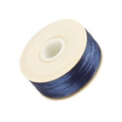 Nymo Size D Nylon Bead Weaving Thread - Blue 64yd
