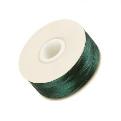 Nymo Size D Nylon Bead Weaving Thread - Evergreen 64yd