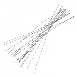 Flexible Soft Twisted Wire Beading Needles 0.24mm PK25