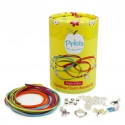 Pipkits Friendship Charm Beads Bracelet Kit - (Brights)
