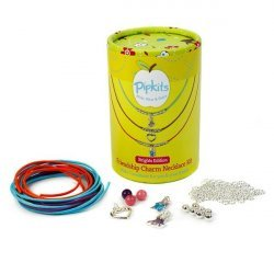 Pipkits Friendship Charm Beads Necklace Kit - (Brights)