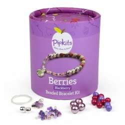Pipkits Jewellery Making Bead Bracelet Kit (Blackberry)