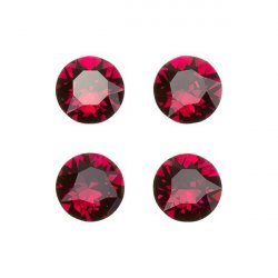 Swarovski 1088 Crystal XIRIUS Chatons Ruby F 8mm PK4