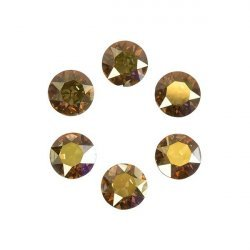 Swarovski 1088 Chatons Crystal Metallic Sunshine F 6mm