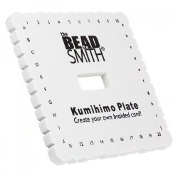 Kumihimo Braiding Disc 6 inch Square Includes 3 Project Ideas