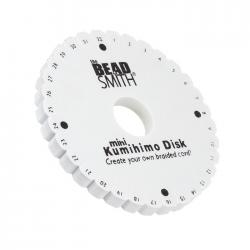 "Kumihimo Braiding Disc Round 4.25"" With Project Ideas"