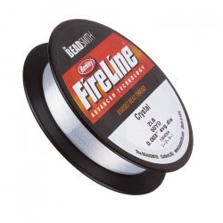 Fireline Braided Beading Thread Crystal 2LB 50yd 0.003""