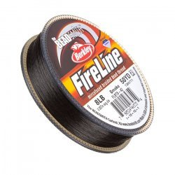 Fireline Braided Beading Thread Smoke 8LB 50yd 0.007""