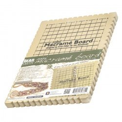 "Beadsmith Mini Macrame Board With Instructions 6""x9"""