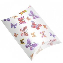 Butterfly Print Small Pillow Gift Box 12x8x3cm PK1