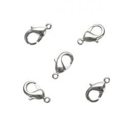 Surgical Steel Lobster Claw Jewellery Clasps 10x5mm PK5