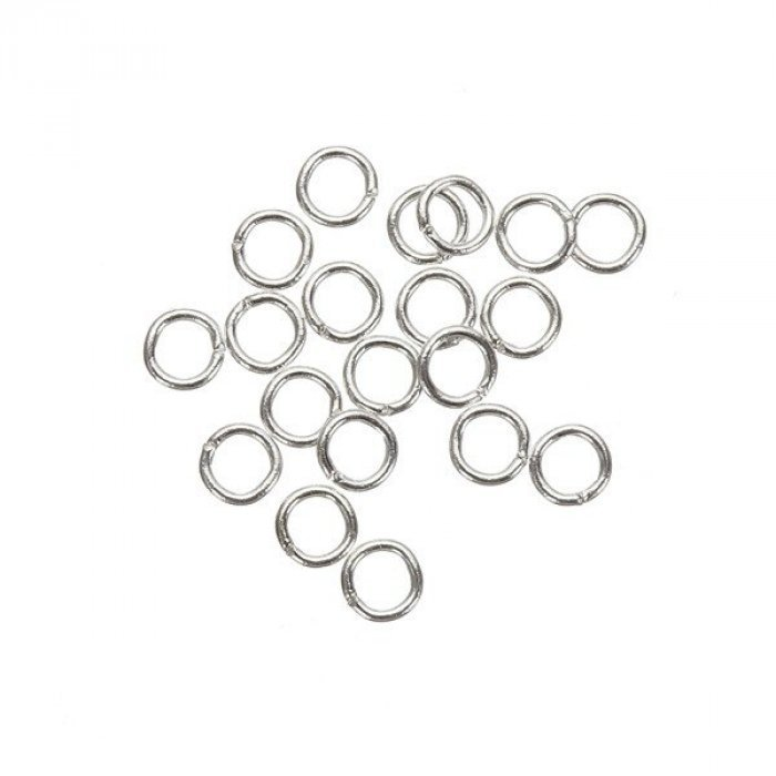 Shiny Copper Plated Jump Rings